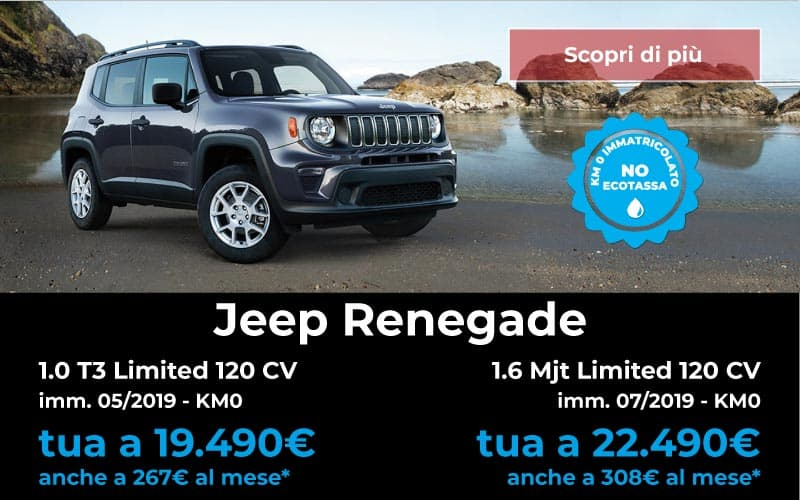 jeep renegade km 0