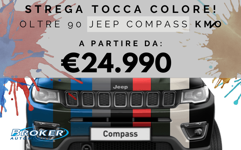 jeep compass km0