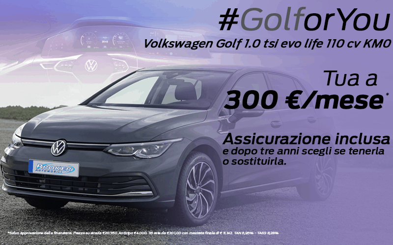 Volkswagen Golf KM0
