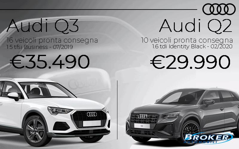 Gamma Audi Q2 e Q3